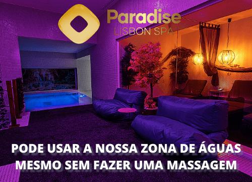 zona de aguas Paradise Lisbon spa
